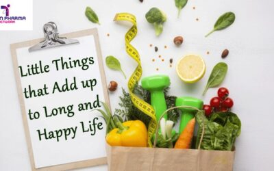 Little Things that Add up to Long and Happy Life